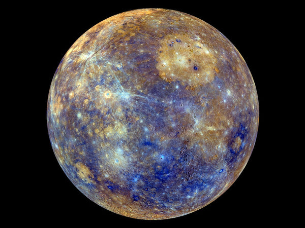 While Mercury is closest to the Sun, it has no atmosphere to trap heat.