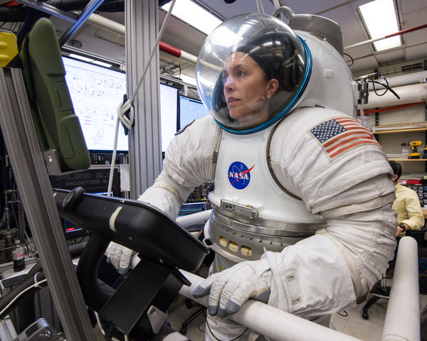 Women astronauts are more suited to the three year journey to Mars.