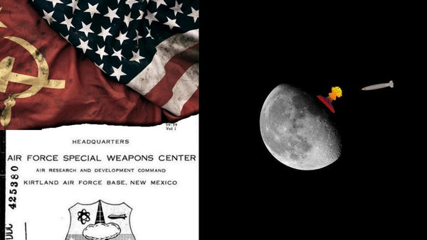 At the height of the old war, the United States almost sent a nuclear warhead to the moon.