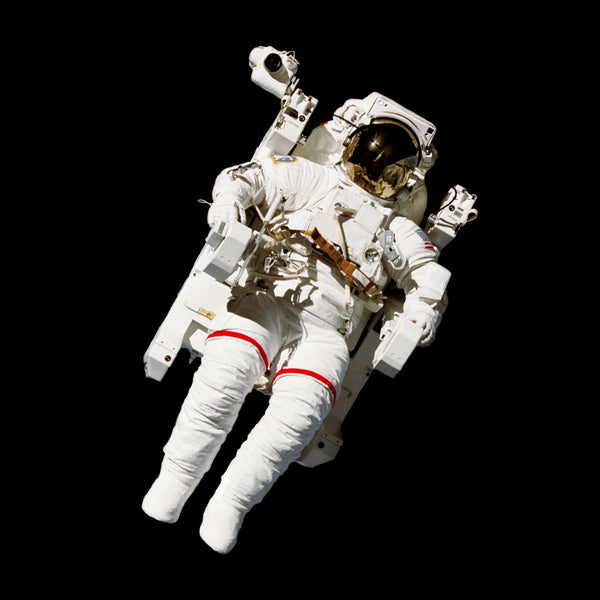 Floating Astronaut in space
