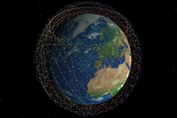 Starlink, the satellite constellation by SpaceX that plans to bring the world high-speed broadband.