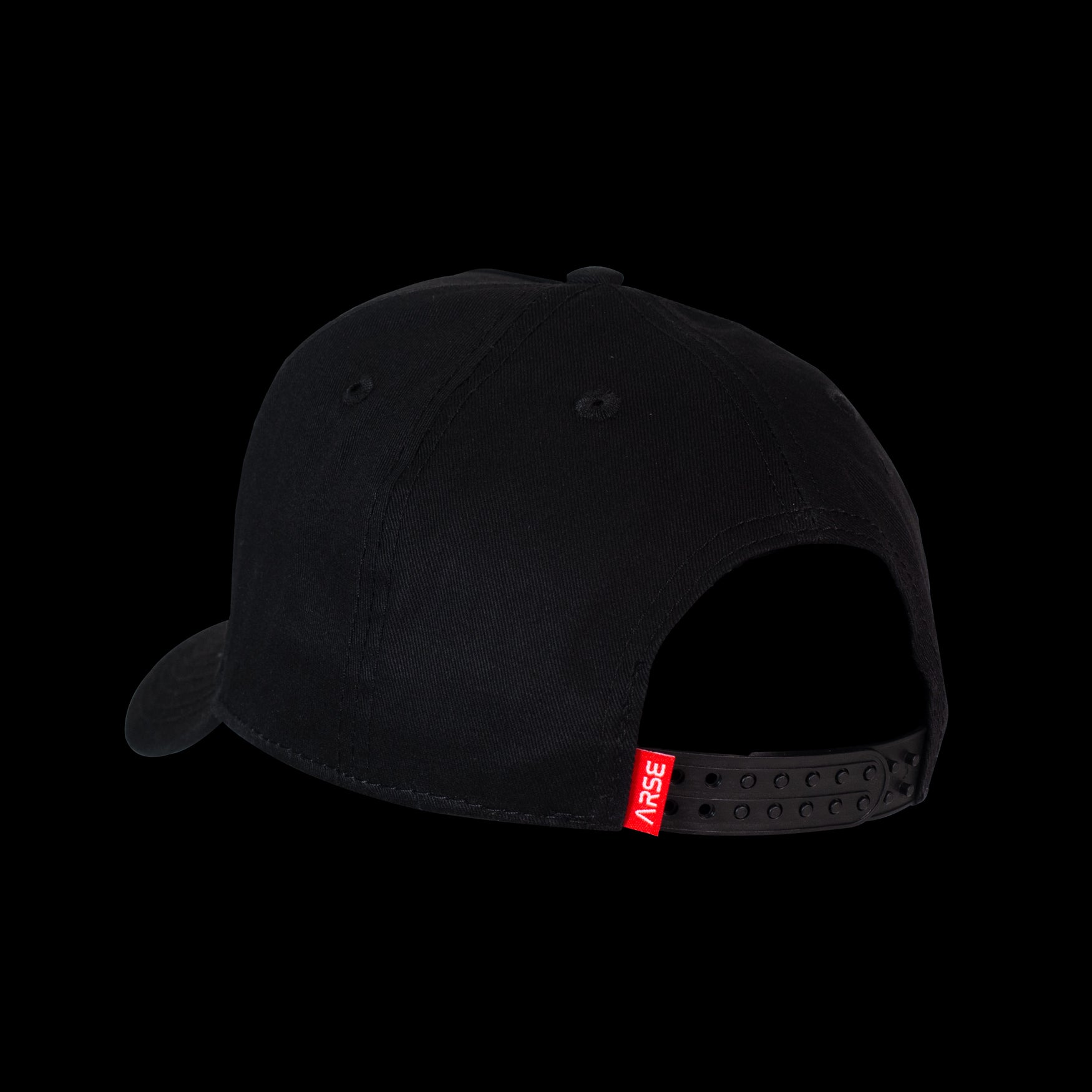 Houston Snapback Hat - Black