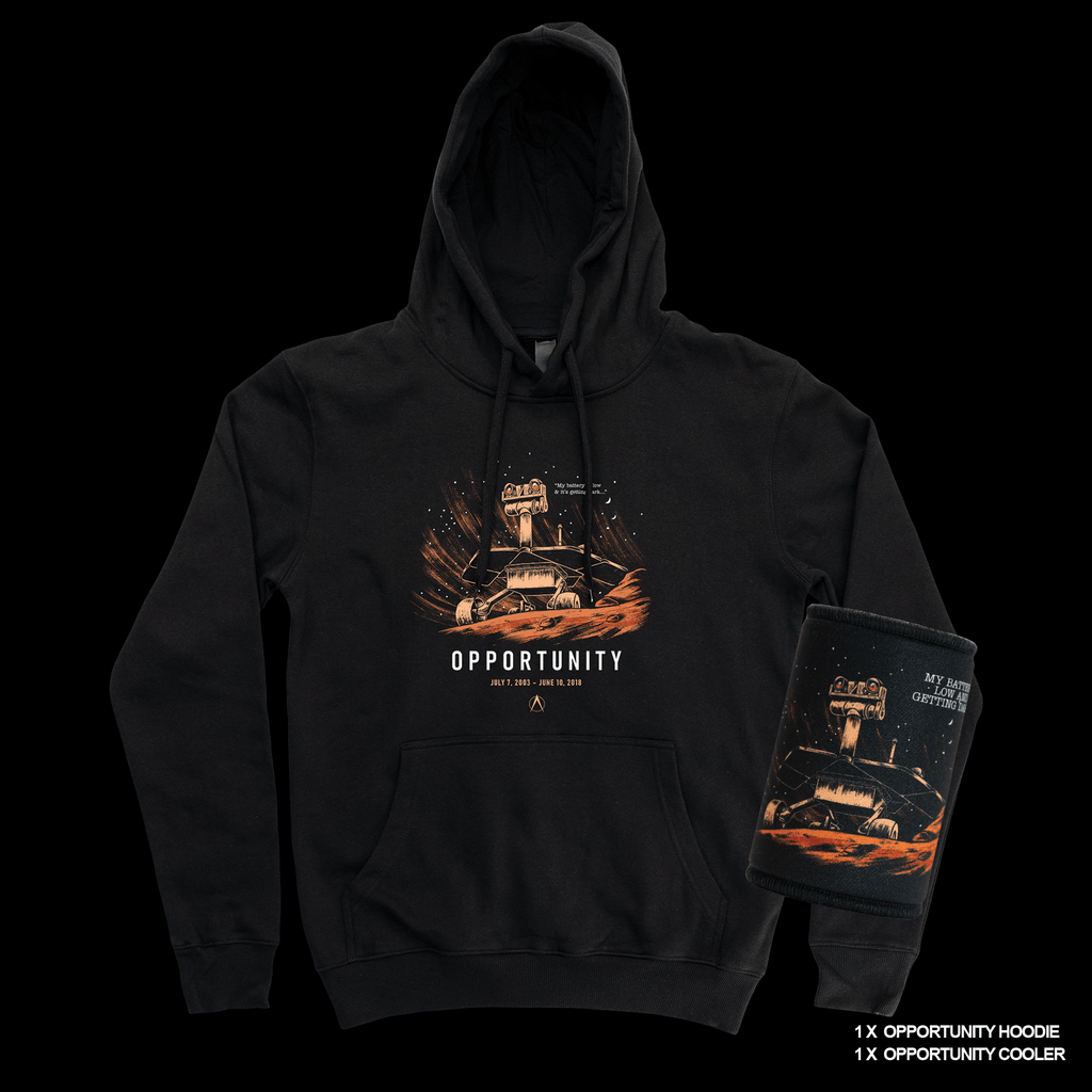 Opportunity Hoodie & Opportunity Cooler Bundle