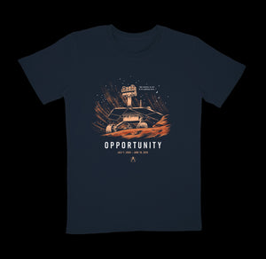Opportunity Tee - Navy