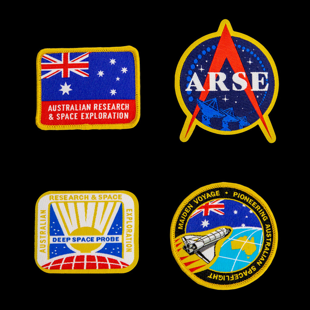 ARSE Iron-on Patches