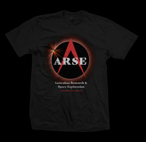 Blood Moon Eclipse Tee - Black