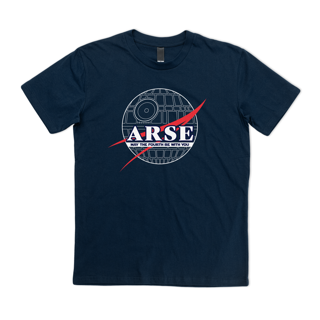 A.R.S.E May The 4th Tee - Navy