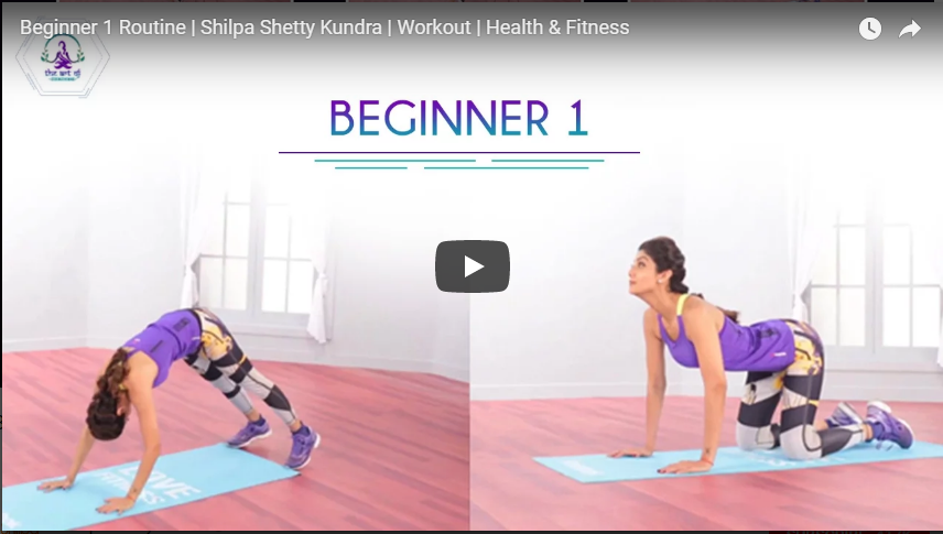 Beginner Routine | Shilpa Shetty Kundra | Workout | Health & Fitness