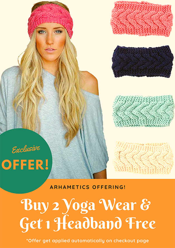 Buy 2 Yoga Wear & Get 1 Headband Free