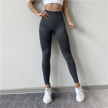 Seamless High Waist Yoga Leggings Leggings - Arhametics