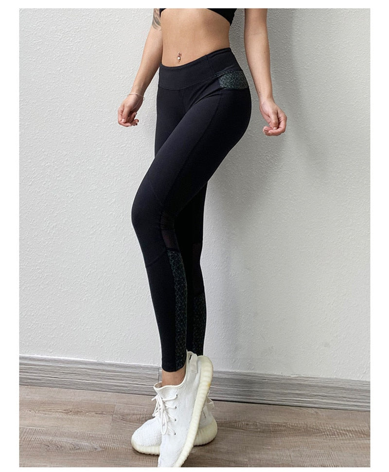 Seamless Yoga Pants With Pockets Leggings - Arhametics