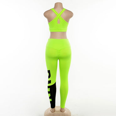 Push-up Sling Backless Sports Suits Yoga Sets - Arhametics