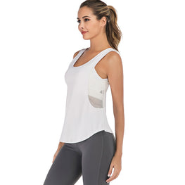 Side Mesh Yoga Top