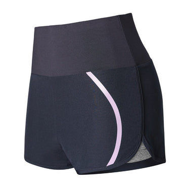 High-waist 2 in 1 Fitness Shorts With Liner