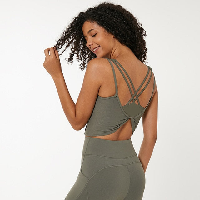 Backless Active Sports Tank Top Tanks - Arhametics