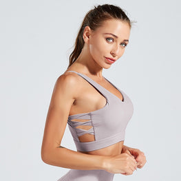 Tummy Control Sport Push Up Yoga Bra