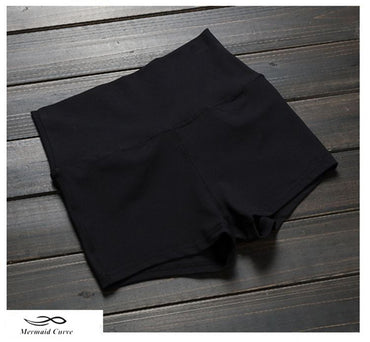 Mermaid Curve Elastic tight shorts shorts - Arhametics