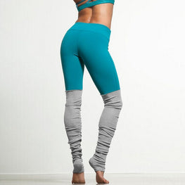 Mesh Patchwork Fitness Tights Leggings - Arhametics