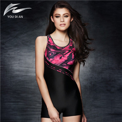 Surplice  Printed Swimsuit  - Arhametics