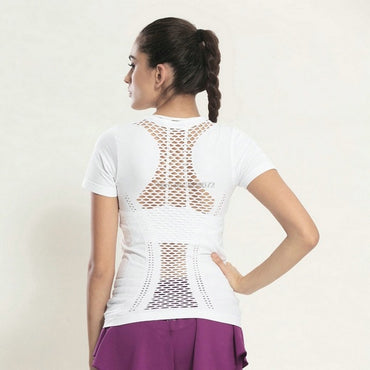 Lulu Mesh Yoga Sports Tops Tanks Tanks - Arhametics