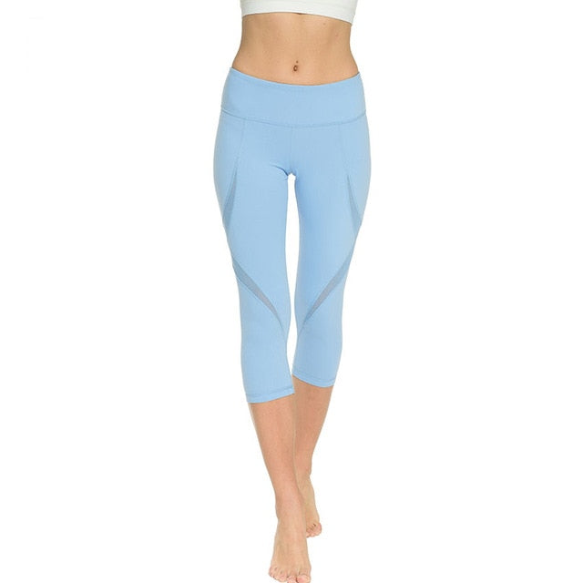 High-waist Coast Capri Capris - Arhametics
