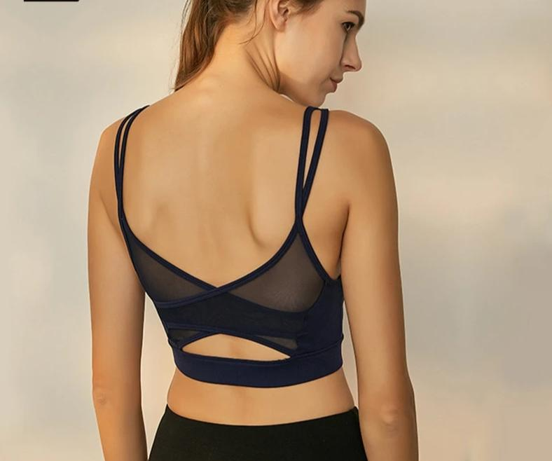 Bliss Mesh Breathable Yoga Bra Bras - Arhametics