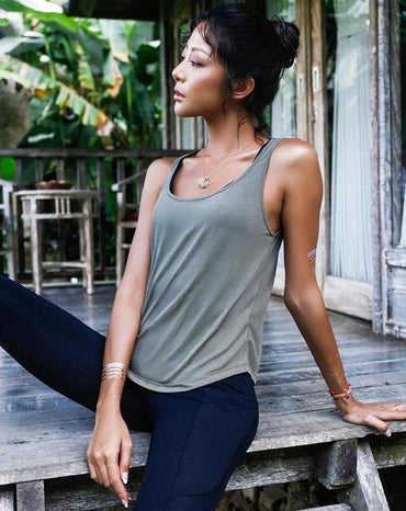 Radiance Backless Yoga Shirt Top Tanks - Arhametics