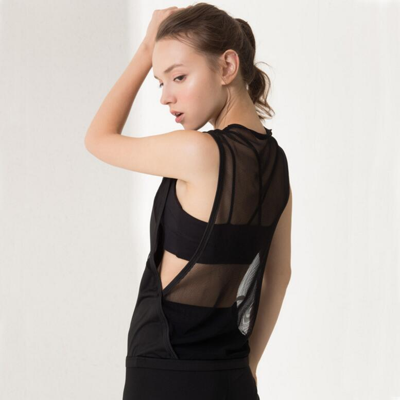 Mesh Back Transparent Tank Top Tanks - Arhametics