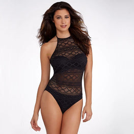 Beach Wear Strappy One-piece Swimsuit Swimsuit - Arhametics