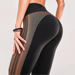 Elastic Yoga Gym Leggings Leggings - Arhametics