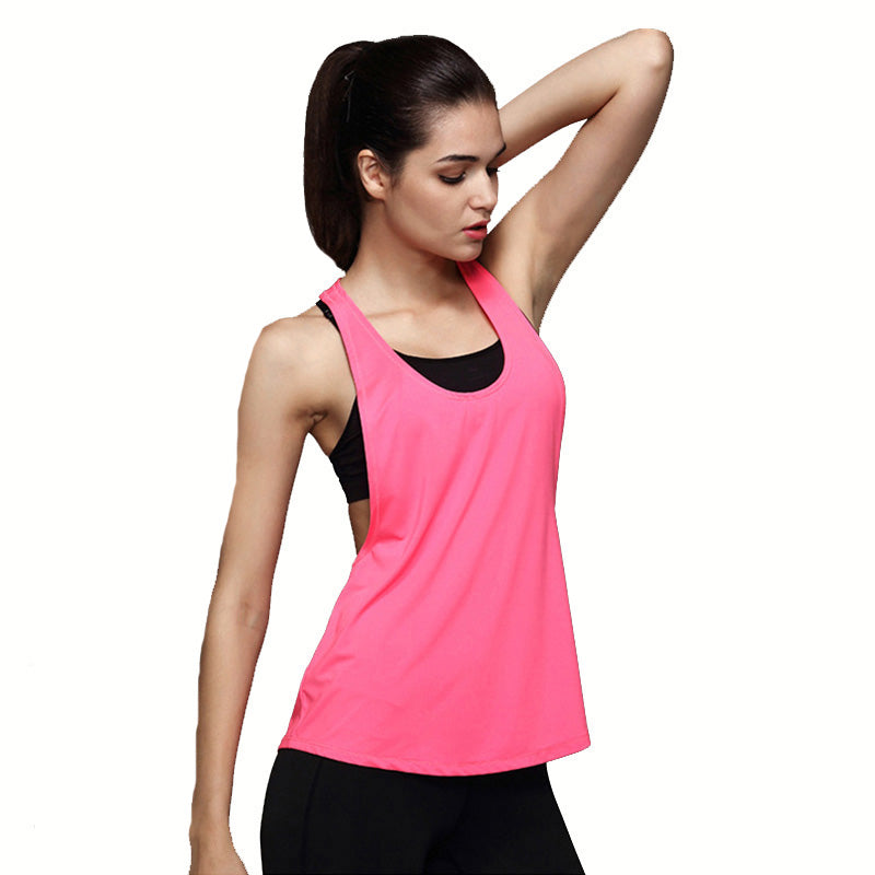 Slink Wrap Jersey Loose Yoga Tank Top Tanks - Arhametics