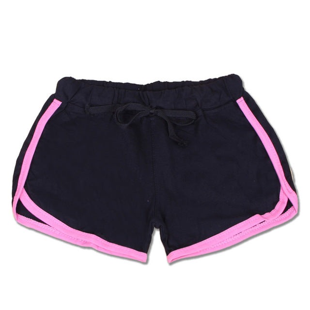 Drawstring Yoga Shorts shorts - Arhametics