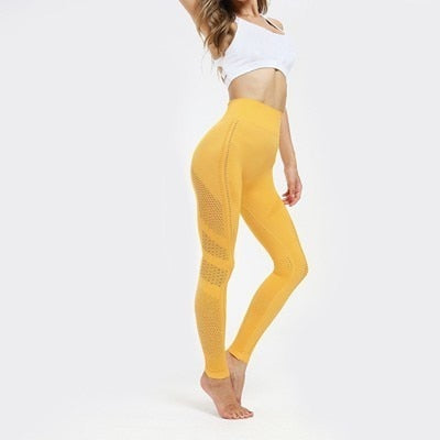 Flawless Knit Fitness Tights Leggings - Arhametics