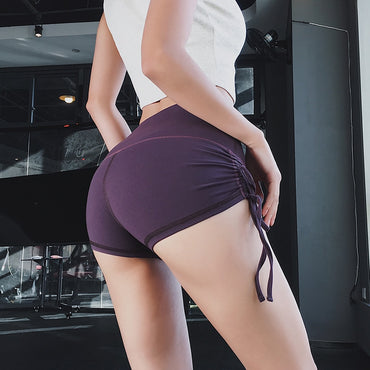 Side Tie Short Shorts - Arhametics