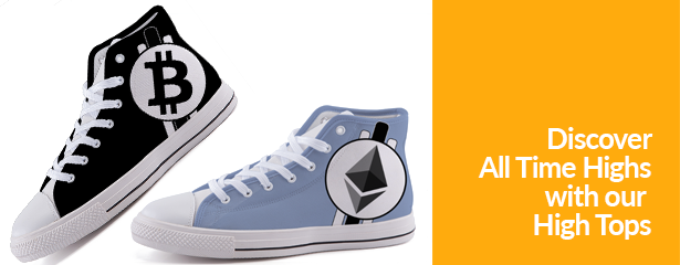 Bitcoin High Tops Ethereum Cryptocurrency Altcoin