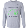 Trading Long Sleeve Tee In Fibonacci We Trust
