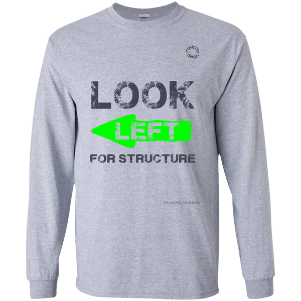 Trading Long Sleeve Tee Look Left For Structure