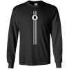 Crypto T-shirt LS - Lisk Sports Black