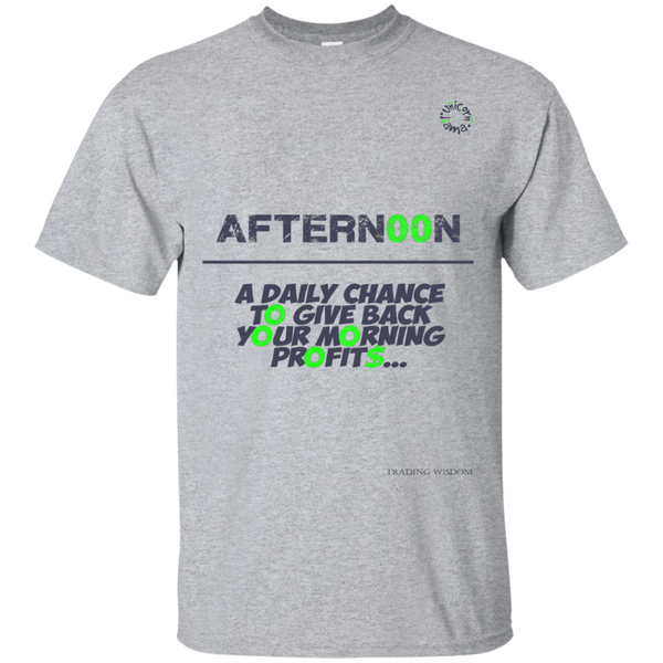 Trading T-shirt Day Trader Afternoon Delight