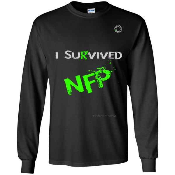 Trading Long Sleeve Tee I survived NFP