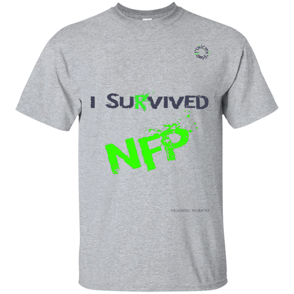 Trading T-shirt I Survived NFP