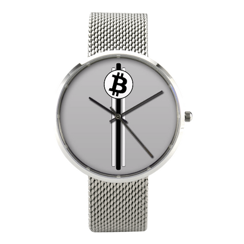 Crypto Wrist Watch Bitcoin Cryptocurrency Coin Unicorn Llama