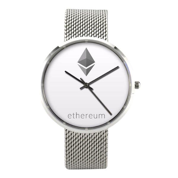 Luxury Quartz Business Ethereum Watch