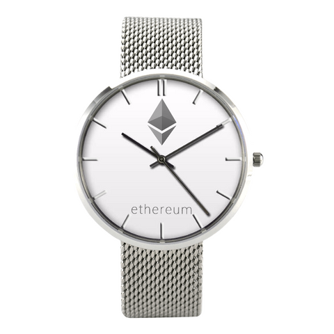 Crypto Wrist Watch Ethereum Bitcoin Cryptocurrency Coin Unicorn Llama