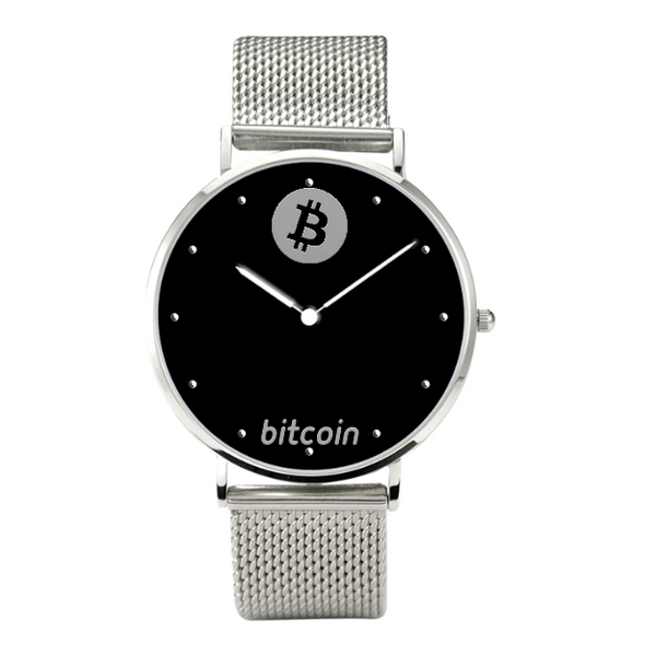 Luxury Quartz Business Bitcoin Watch