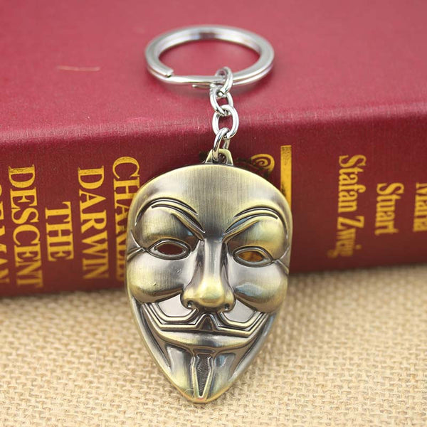 Crypto Keychain – Anonymous Mask
