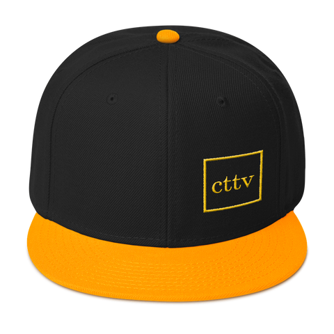 Crypto Hat - CryptoTraders TV - Snapback Hat Black/Yellow