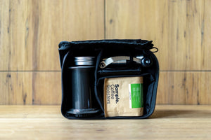Basal filter coffee travel bag