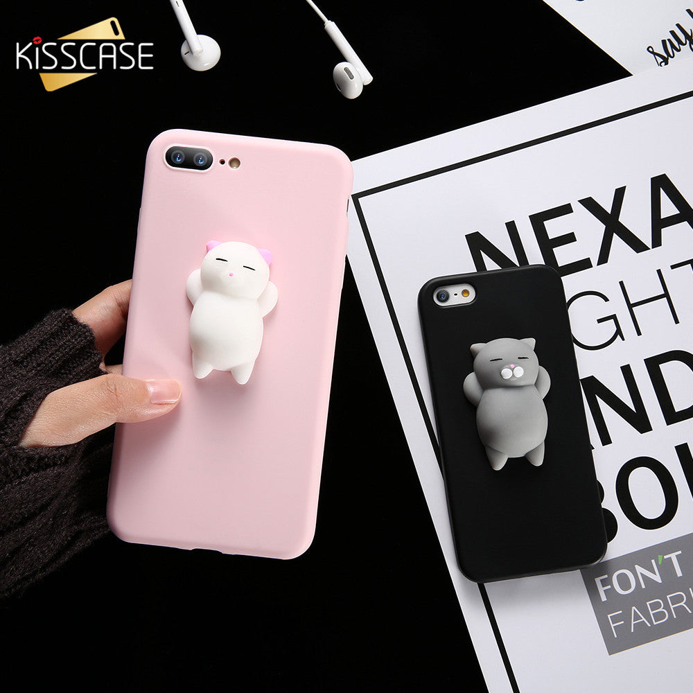 Cute Squishy Cat  Phone Case For iPhone