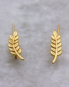 Gold Leaf Ear Crawlers